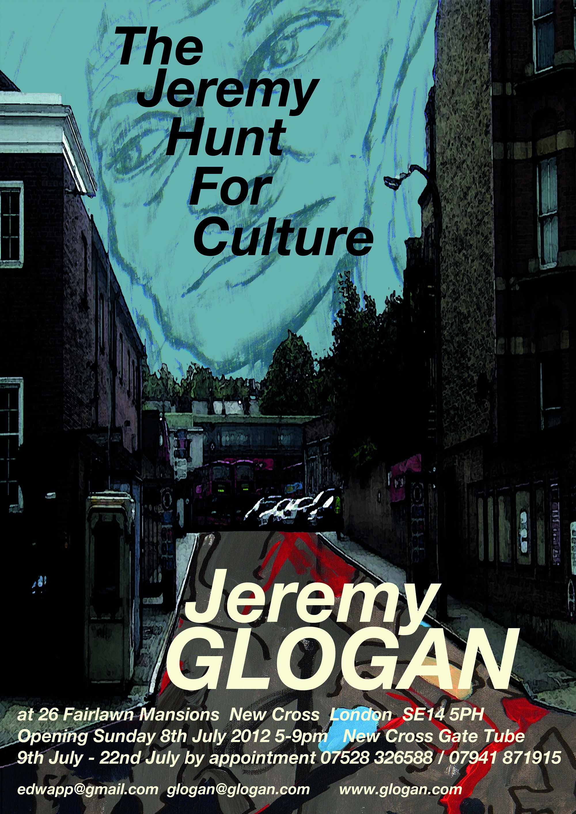 exhibition by Jeremy Glogan